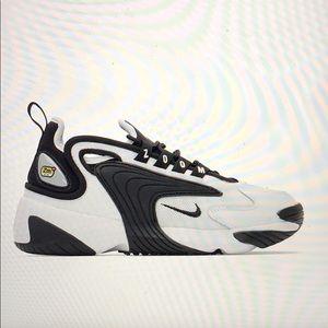 Nike White & Black Zoom 2k Sneakers